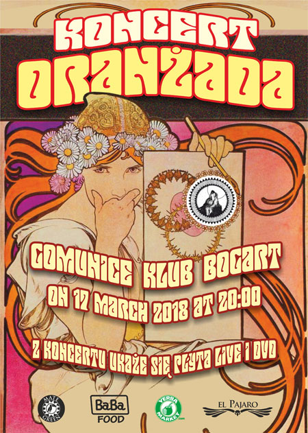 Oranżada Live w klubie Bogart