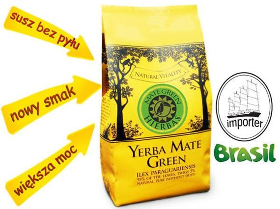 Mate Green HIERBAS (yerba mate)