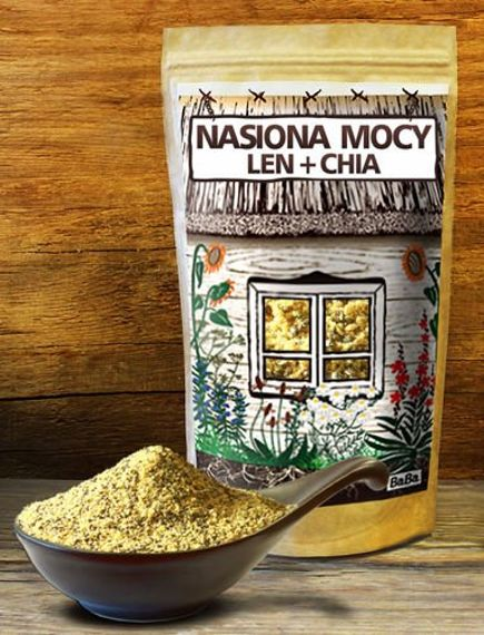 Superfood NASIONA MOCY Chia + Len
