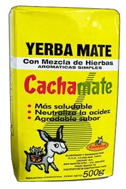 Yerba mate CACHAMATE 1