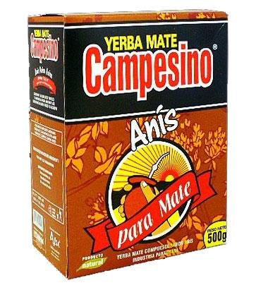 Yerba mate CAMPESINO ANIS