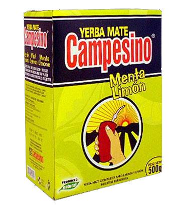 Yerba mate CAMPESINO MENTA LIMON