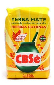 Yerba mate CBSE CUYANAS