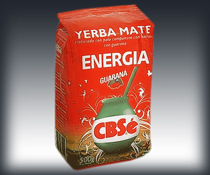 CBSe Energia Guarana Yerba Mate