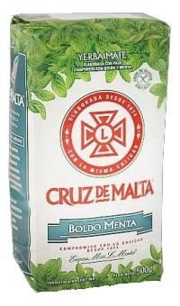 Yerba mate CRUZ DE MALTA BOLDO MENTA
