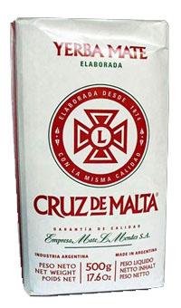 Yerba mate CRUZ DE MALTA ELABORADA