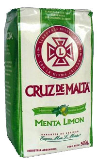 Yerba mate CRUZ DE MALTA MENTA LIMON