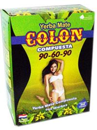 Yerba mate COLON 90-60-90