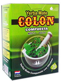 Yerba mate COLON MENTA BOLDO