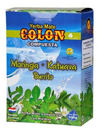 Yerba mate COLON MORINGA