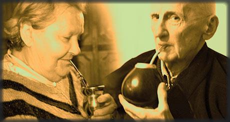 Dziadkowie i yerba mate