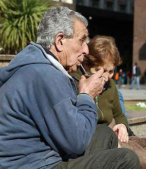 Dziadkowie Siorbaki Argentyna