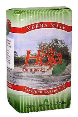 Yerba mate LA HOJA COMPUESTA