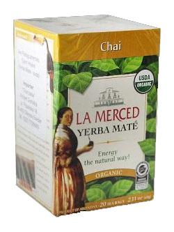 Yerba mate LA MERCED CHAI