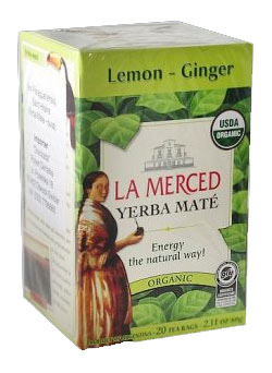 Yerba mate LA MERCED LEMON GINGER
