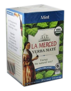 Yerba mate LA MERCED MINT.