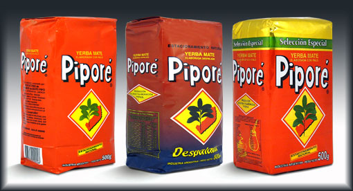 Yerba mate PIPORE Traditional Despalada Especial