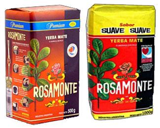 Yerba mate ROSAMONTE 2 gatunki