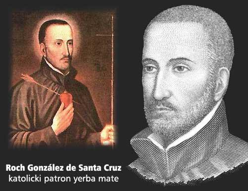 Roch González de Santa Cruz – katolicki patron yerba mate