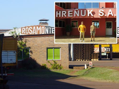Rosamonte fabryka yerba mate