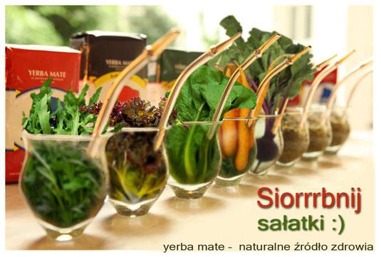 Salatka do Picia - yerba mate naturalne źródło zdrowia