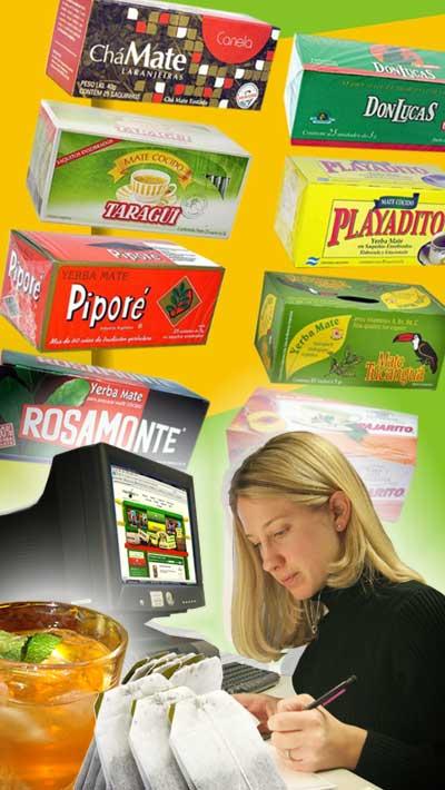 Saszetki yerba mate - produkty