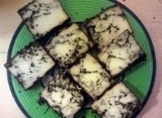 Tofu z yerba mate