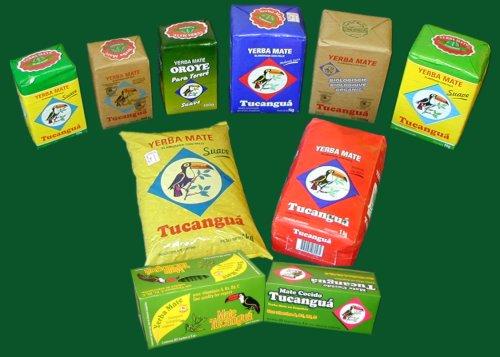 Tucangua produkty yerba mate