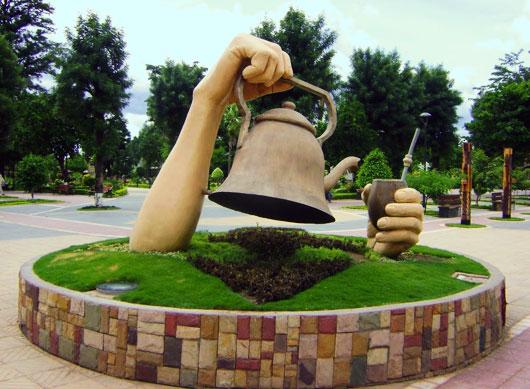 Villamontes - pomnik mateisty
