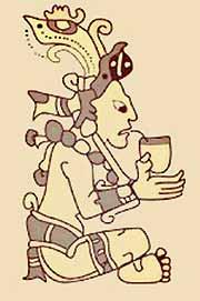 mba indianin pije yerbę