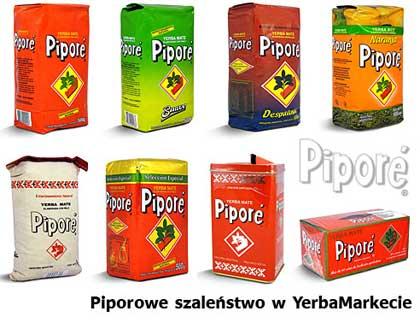 yerba mate Pipore produkty