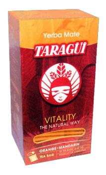 Yerba mate TARAGUI VITALITY ORANGE