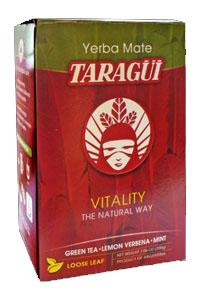 Yerba mate TARAGUI VITALITY VERBENA GREEN TEA