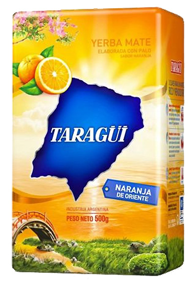 Yerba mate TARAGUI  Naranja de Oriente