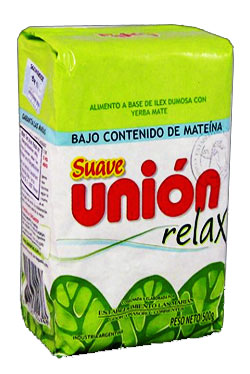 Yerba mate UNION RELAX