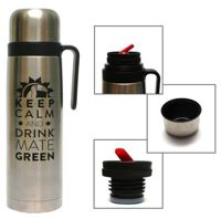 Termos Mate Green Keep Calm 1 L ®