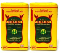 Yerba Mate 2x 1kg COLON Traditional 2x 1000g