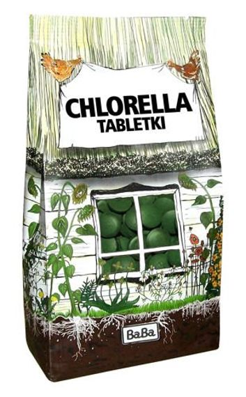 Chlorella w tabletkach
