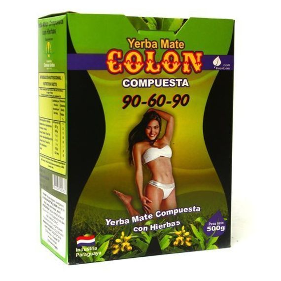 Colon 90-60-90 Yerba Mate