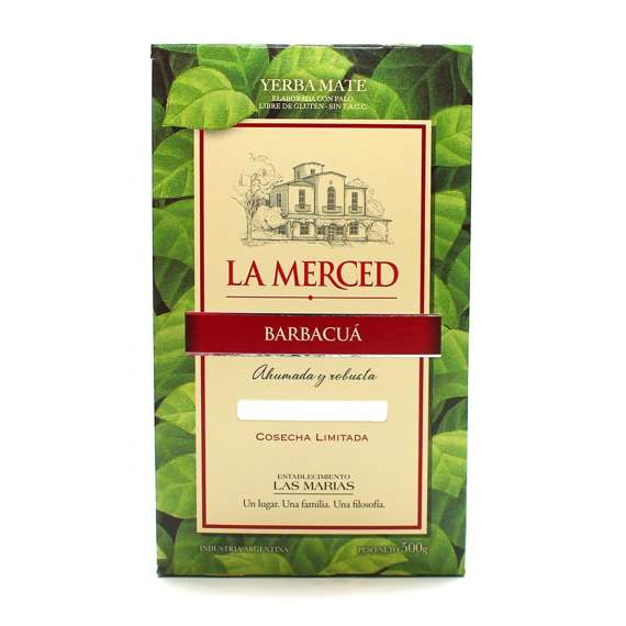 La Merced Barbacua Yerba Mate