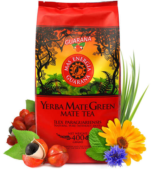 Yerba Mate Green MAS ENERGIA GUARANA