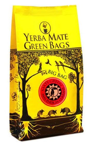 Yerba Mate Green Mas Energia Guarana BIG BAG Cocido Saszetki 7 x 10 g